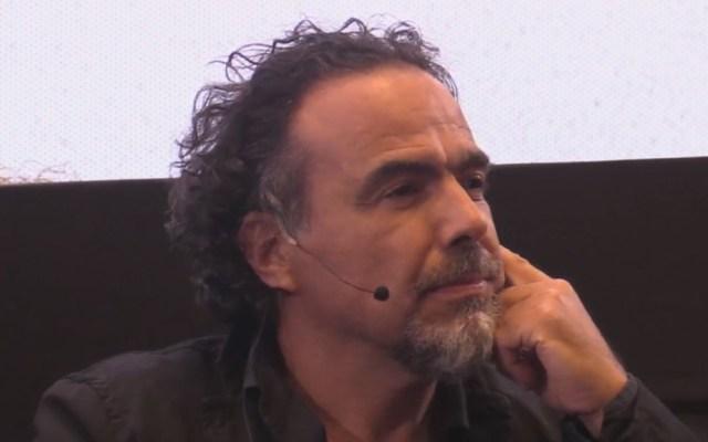 Alejandro González Iñárritu imparte clase magistral en la UNAM - Alejandro González Iñárritu. Captura de pantalla