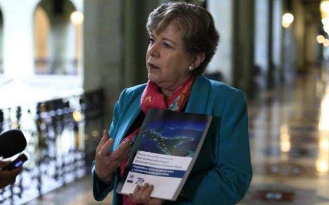 México cambió modelo neoliberal por uno de bienestar: Cepal - Alicia Bárcena,  secretaria Ejecutiva de Cepal. Foto de Cepal