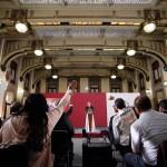 Conferencia de AMLO (17-09-2019) - 90913006. Ciudad de México, 13 Sep 2019 (Notimex-Isaías Hernández).-Aspectos de la conferencia matutina del Presidente Andrés Manuel López Obrador, el día de hoy brindó honores a los héroes de la patria en el marco del día de los niños héroes. Ciudad de México, 13 de septiembre. NOTIMEX/FOTO/ISAÍAS HERNANDEZ/IHH/POL/4TAT
