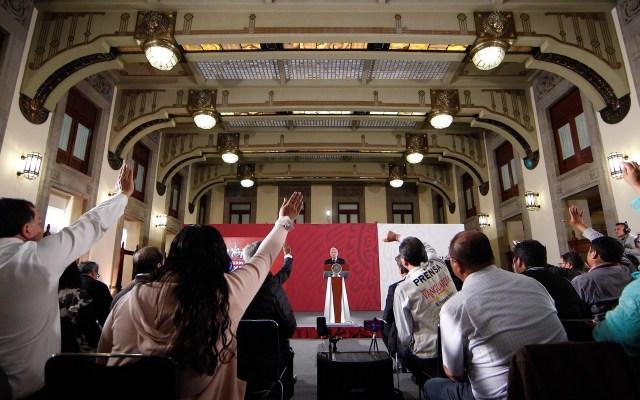 No habrá impunidad; todos los que defraudaron con inmuebles afectados, enfrentarán la justicia: AMLO - 90913006. Ciudad de México, 13 Sep 2019 (Notimex-Isaías Hernández).-Aspectos de la conferencia matutina del Presidente Andrés Manuel López Obrador, el día de hoy brindó honores a los héroes de la patria en el marco del día de los niños héroes. Ciudad de México, 13 de septiembre. NOTIMEX/FOTO/ISAÍAS HERNANDEZ/IHH/POL/4TAT