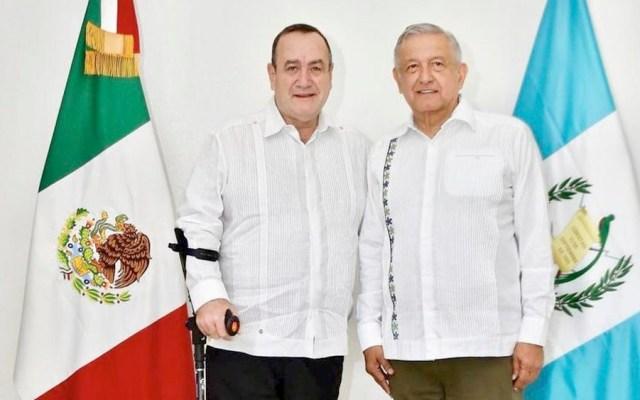 López Obrador se reúne en Mérida con presidente electo de Guatemala - López Obrador se reúne en Mérida con presidente electo de Guatemala