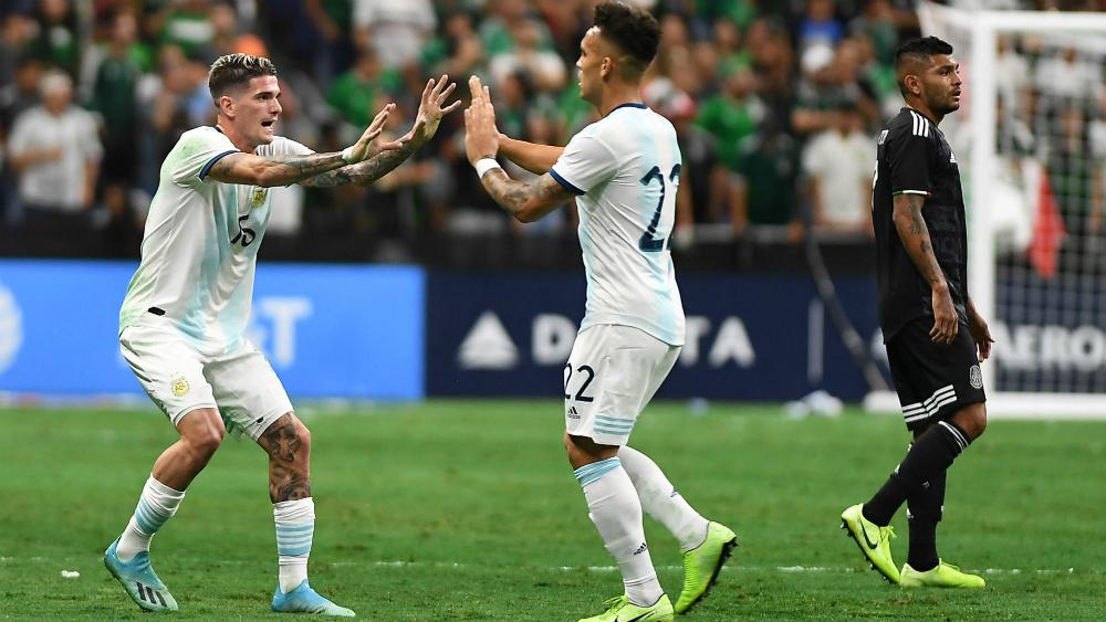 Argentina dio lección a México en San Antonio - Foto de Mexsport