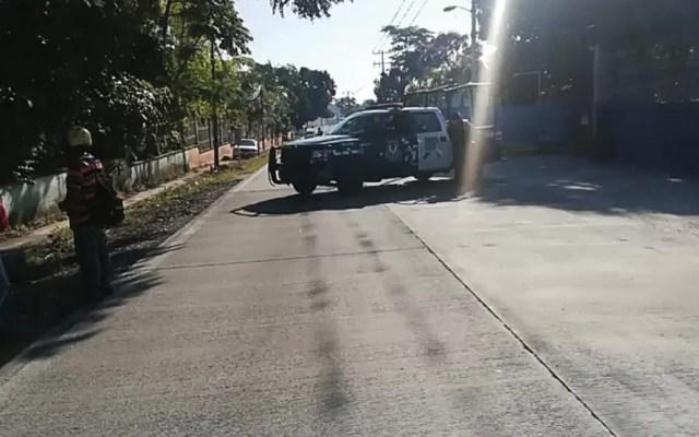Asesinan a segundo comandante de policía de Atoyac - Foto de @VigilantesV