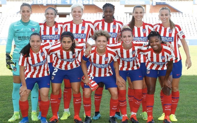 Con mexicanas, Atlético Madrid gana su primer partido en la Primera Iberdrola - atletico de madrid femenino mexicanas