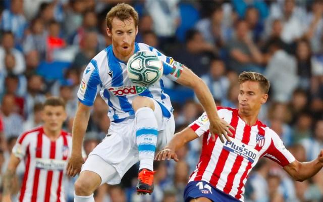 Atlético de Madrid sin Héctor Herrera pierde contra la Real Sociedad - Atlético de Madrid pierde contra la Real Sociedad