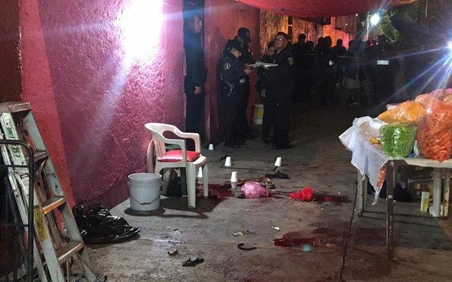 Balacera en la Doctores deja cuatro muertos y cuatro heridos - Así la vecindad de la colonia Doctores tras balacera. Foto de @c4jimenez1