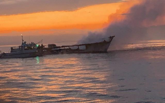 Incendio de barco suma 20 muertos en California - Barco Conception, California. Foto de EFE