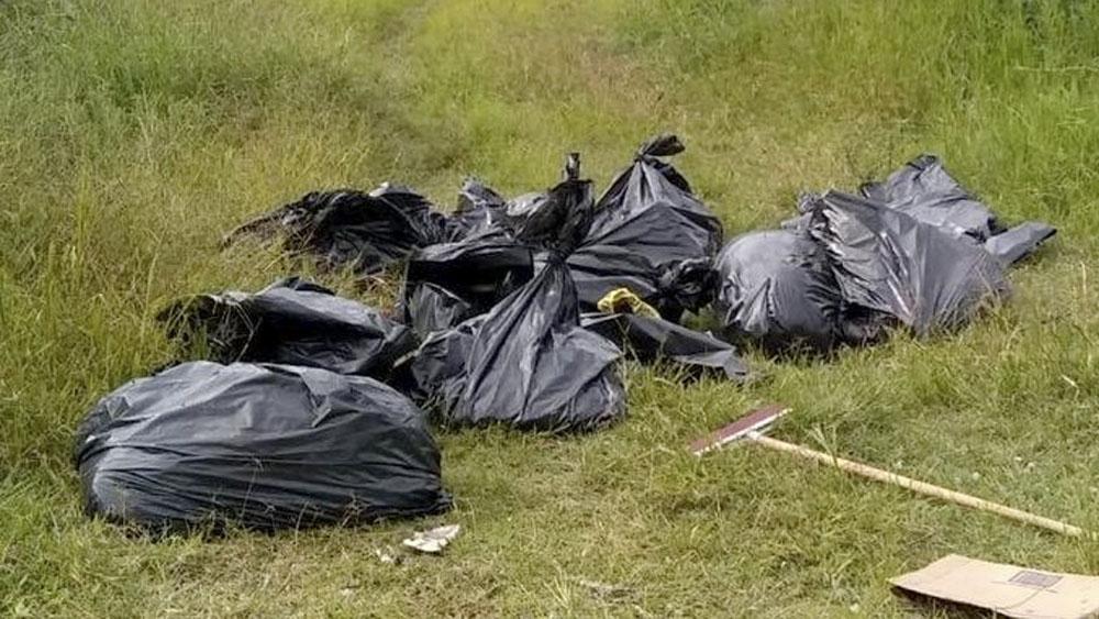 Investigan hallazgo de 17 bolsas con restos humanos en Tala, Jalisco - Investigan hallazgo de 17 bolsas con restos humanos en Tala, Jalisco