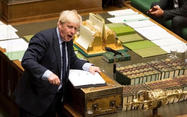 Boris Johnson convocará a elecciones si Parlamento veta Brexit duro - Boris Johnson Reino Unido
