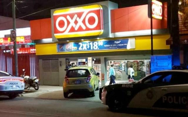 Roban cajero automático de Oxxo en Coyoacán - cajero automatico oxxo coyoacan