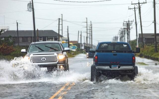 Dorian provoca cortes a la electricidad en Carolina del Norte - Carolina del Norte Dorian huracán