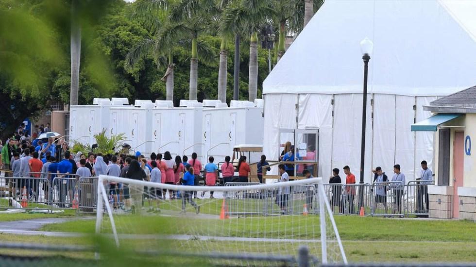 Denuncian contaminación cerca de centro de menores migrantes en Florida - Centro de detención migrantes Florida Homestead menores