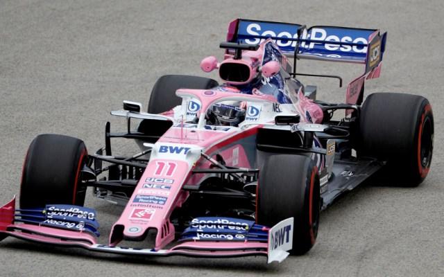FIA reprende a Checo Pérez tras incidente en práctica del GP de Singapur - checo perez singapur