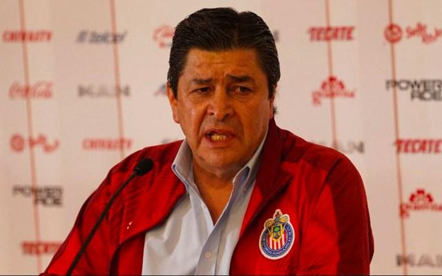 """Chivas rechaza """"amiguismos"""" en contratación de Tena - Luis Fernando Tena"""