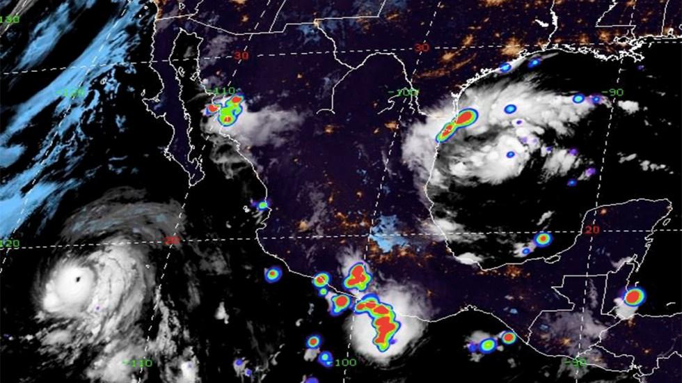 Se forma ciclón tropical 7 en el Golfo de México - ciclón tropical 7 tamaulipas