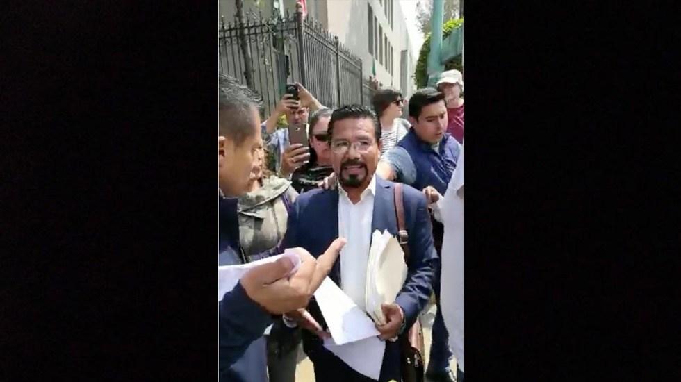 Detienen a Cipriano Charrez en la Ciudad de México - Captura de Pantalla