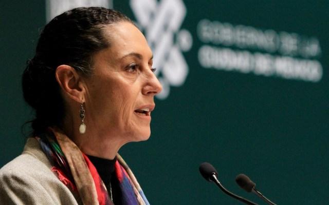 Sheinbaum analiza recorte de altos funcionarios en la Ciudad de México - Claudia Sheinbaum. Foto de Notimex