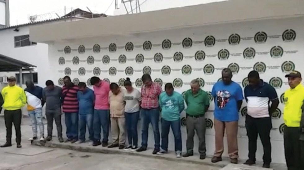 Detienen a 206 personas por diversos crímenes en Colombia - Foto de Cablenoticias Colombia
