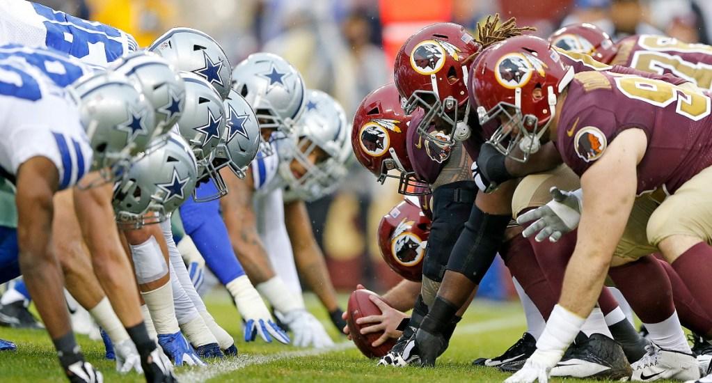 Cowboys y Patriots dominan actividad dominical de la NFL - Patriots Cowboys Dallas Redskins Washington partido NFL