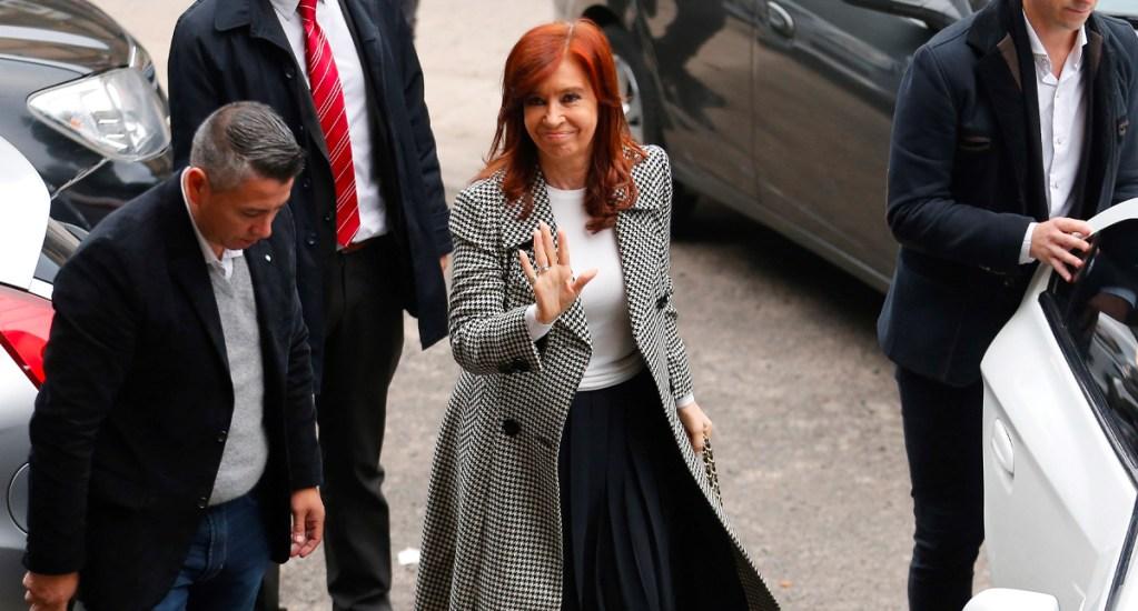 Envían a juicio a la ex presidenta argentina Cristina Fernández. Noticias en tiempo real