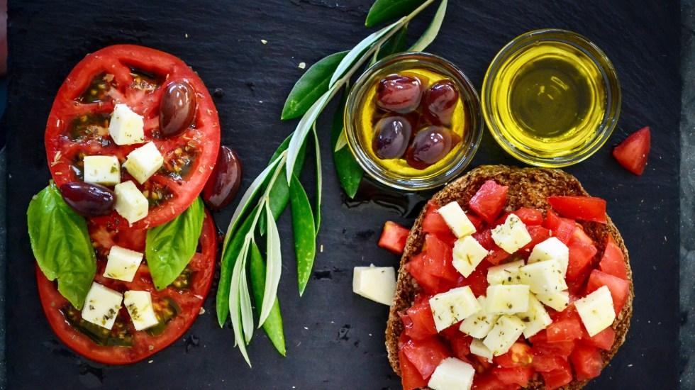 Destacan las bondades de las alimentación mediterránea - Foto de Pixabay.