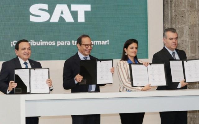 """Presenta SAT decálogo """"El buen mexicano en materia fiscal"""" - Foto de SAT"""
