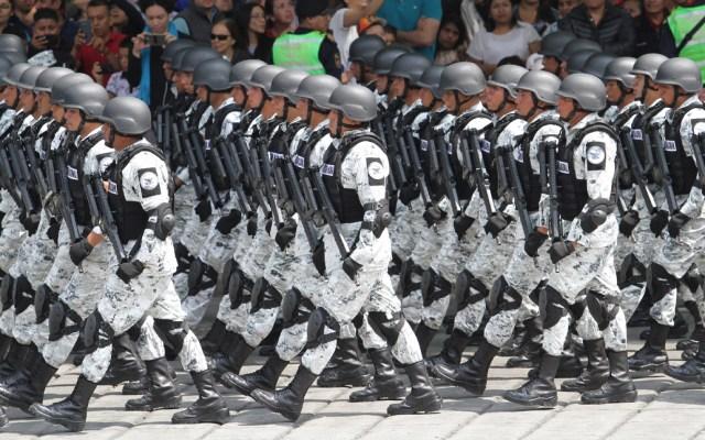 Desfile Militar por el 209 aniversario del inicio de la Guerra de Independencia - Además de 12 mil 732 integrantes de las fuerzas armadas y Guardia Nacional, participan en el desfile 68 charros, 74 aeronaves, 218 caballos y 414 vehículos