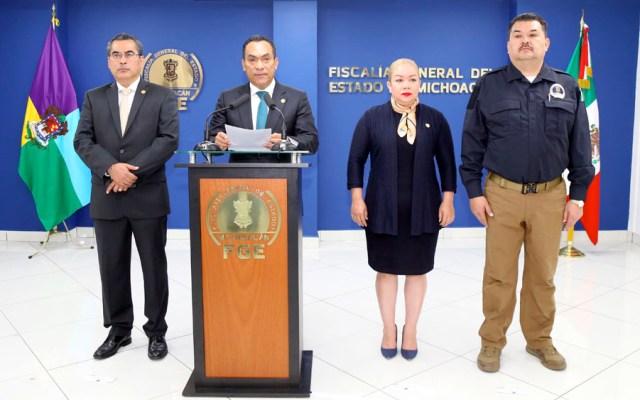Detienen a policías de Ziracuaretiro, Michoacán por desaparición forzada - Detienen a policías de Ziracuaretiro, Michoacán, por desaparición forzada