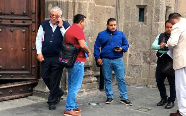 Dirigentes de la CNTE se reúnen con el presidente López Obrador - Dirigentes de la CNTE se reúnen con el presidente López Obrador en Palacio Nacional