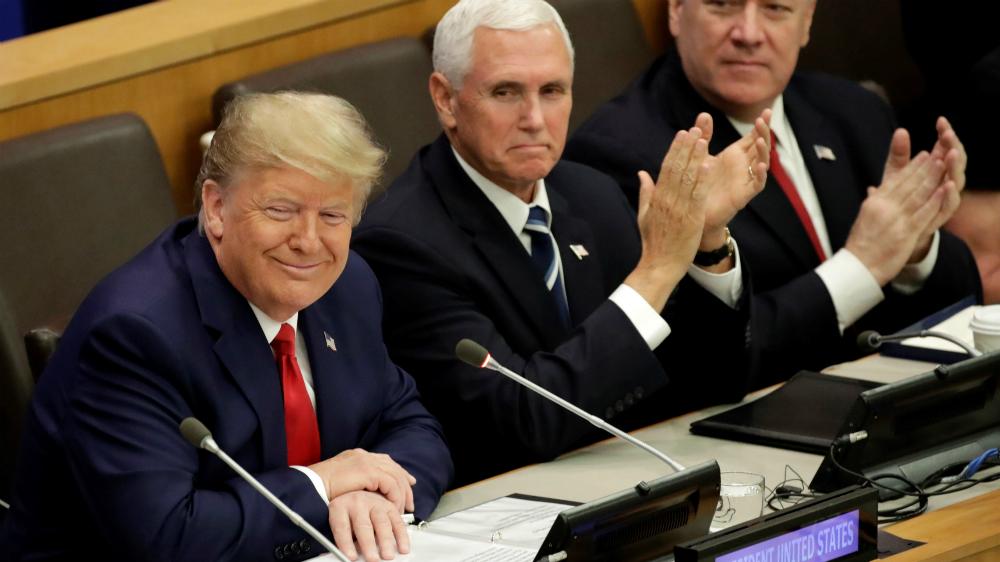 Trump pide en ONU promover aire y agua limpios sin hablar de crisis climática - Foto de EFE
