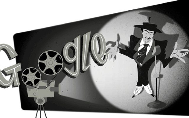 Doodle celebra cumpleaños 104 de Tin Tan - Doodle de Tin Tan. Foto de Google