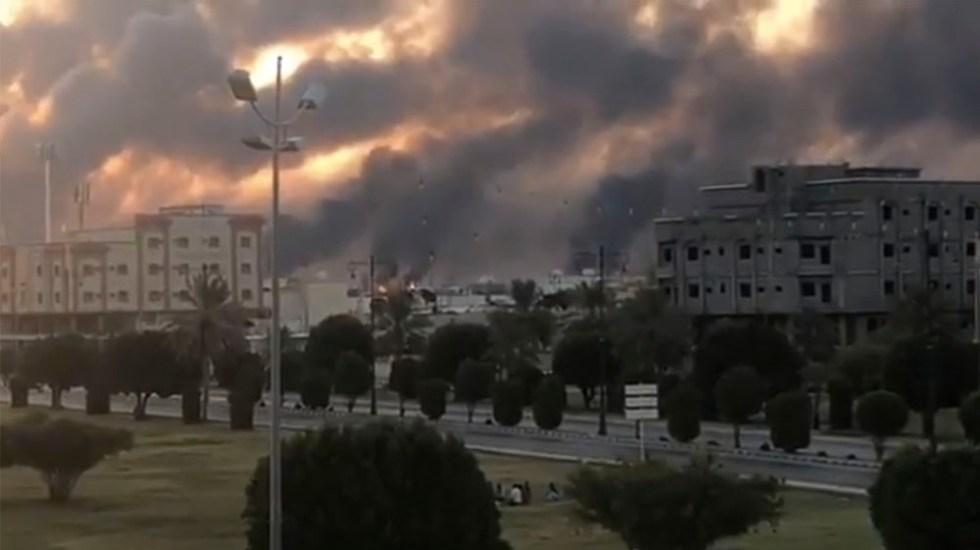 Lanzan ataque con drones contra refinería en Arabia Saudita - drones arabia saudita