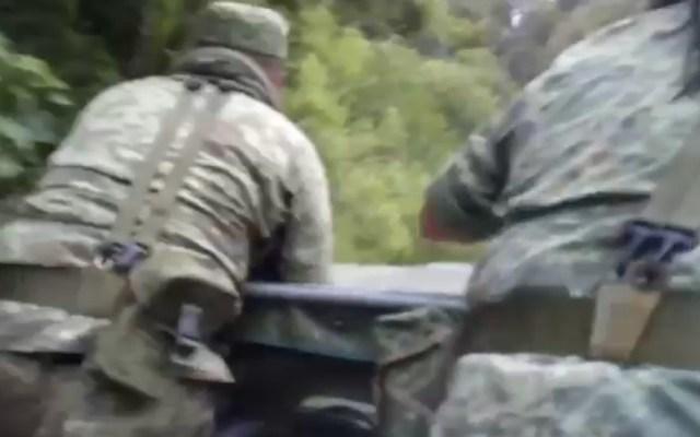 Tres militares muertos tras emboscada en Guerrero