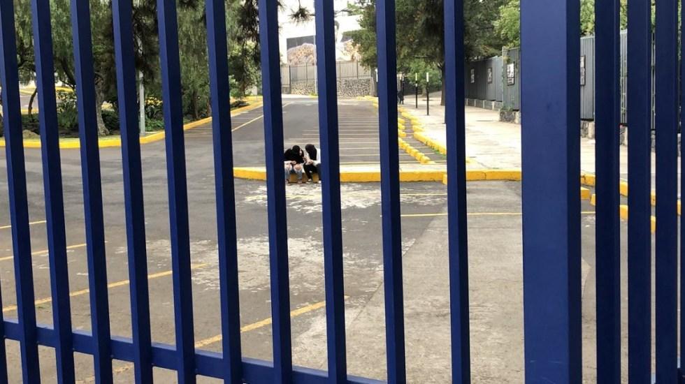 #Video Toman Facultad de Ciencias Políticas de la UNAM - Encapuchados dentro de la FCPyS de la UNAM. Foto de LDD