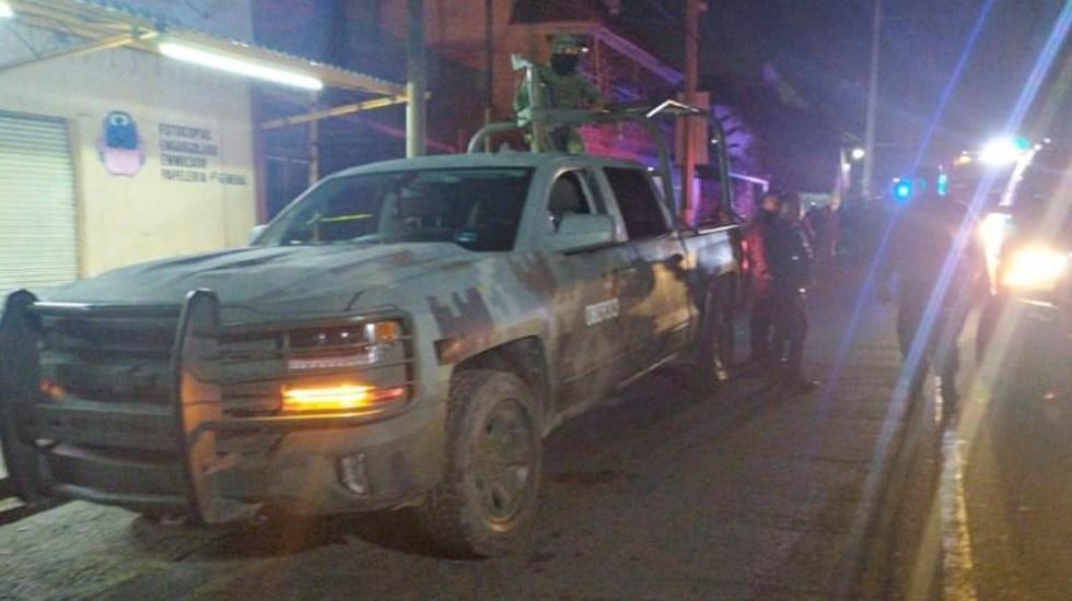 Enfrentamiento entre Guardia Nacional y grupo armado deja tres detenidos - Enfrentamiento entre Guardia Nacional y grupo armado deja tres detenidos