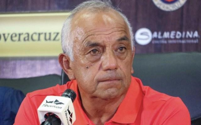 Enrique López Zarza es nuevo entrenador de Veracruz - Foto de @ClubTiburones