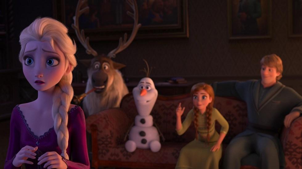 """#Video El nuevo tráiler de """"Frozen 2"""" - Escena de Frozen 2. Foto de @DisneySpain"""
