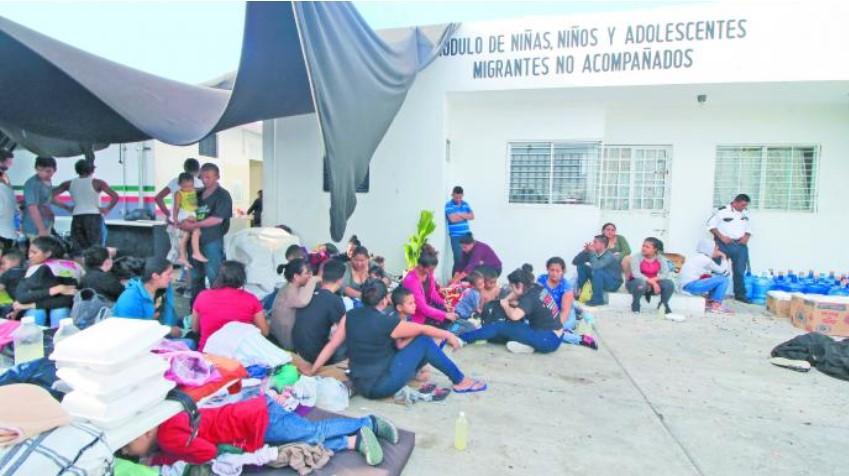 Tabasco niega maltrato a migrantes en estaciones del INM - Estación Migratoria del INM. Foto de El Universal