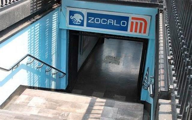 Metro anuncia horarios especiales por Fiestas Patrias - estación zócalo metro festejos independencia horarios especiales
