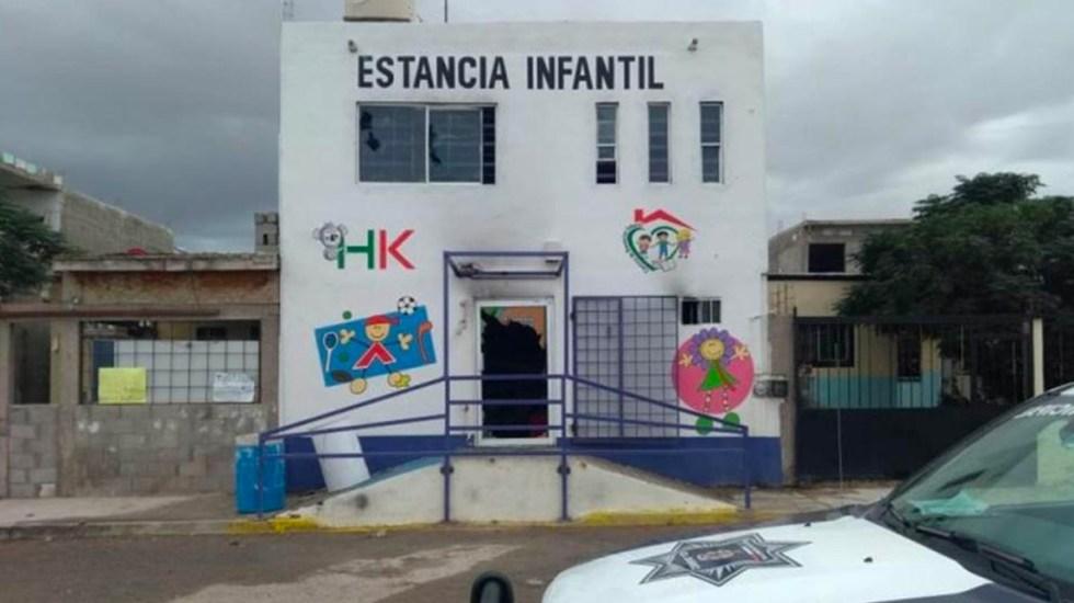 Saquean e incendian estancia infantil en Ciudad Juárez - estancia infantil