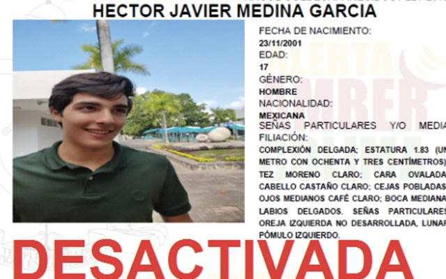 Localizan cuerpo de joven estudiante desaparecido en Colima - Foto de @AAMBER_col