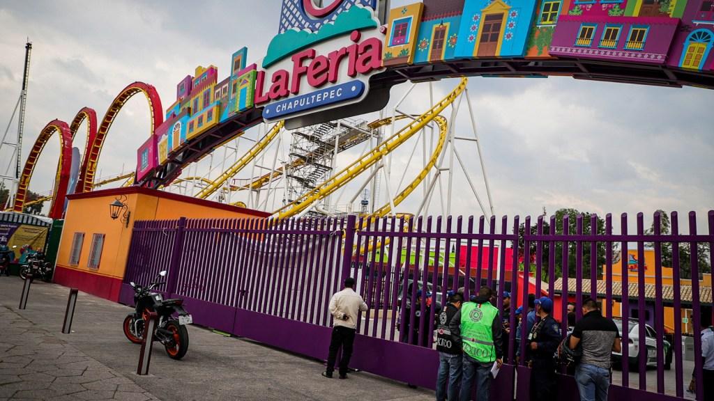 Faltaba mantenimiento en todos los juegos de la Feria de Chapultepec - Feria de Chapultepec accidente juego mecánico 2