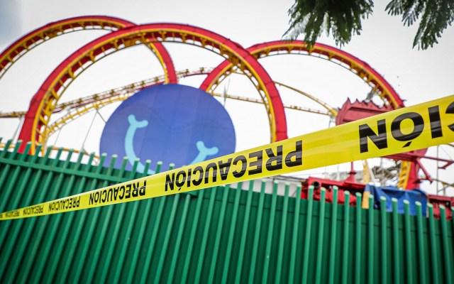 Cierra temporalmente la Feria de Chapultepec tras accidente en montaña rusa - Foto de Notimex-Quetzalli Blanco.