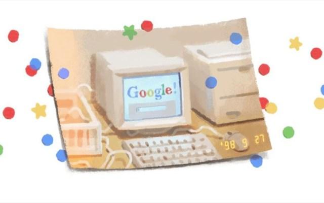 Google celebra su 21 aniversario - google doodle 21 aniversario
