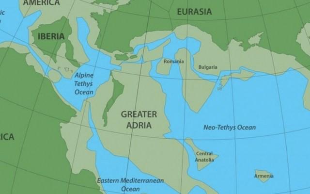 Especialistas encuentran un nuevo continente llamado Gran Adria - Foto de The Washington Post