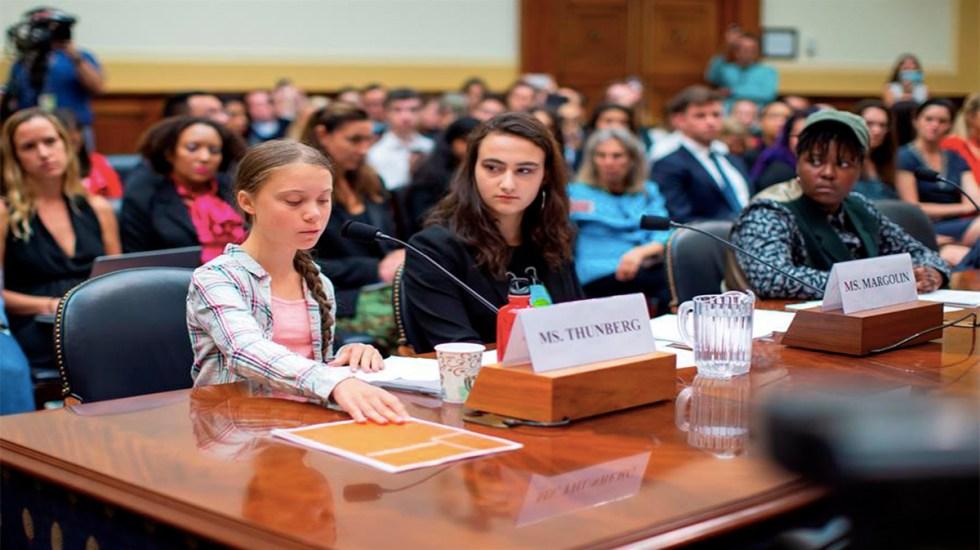 Greta Thunberg reprende al Congreso de EE.UU. por inacción ante el cambio climático - greta thunberg congreso de ee.uu. cambio climático