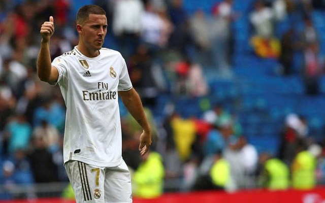 Hazard debuta en triunfo del Real Madrid contra el Levante - hazard real madrid