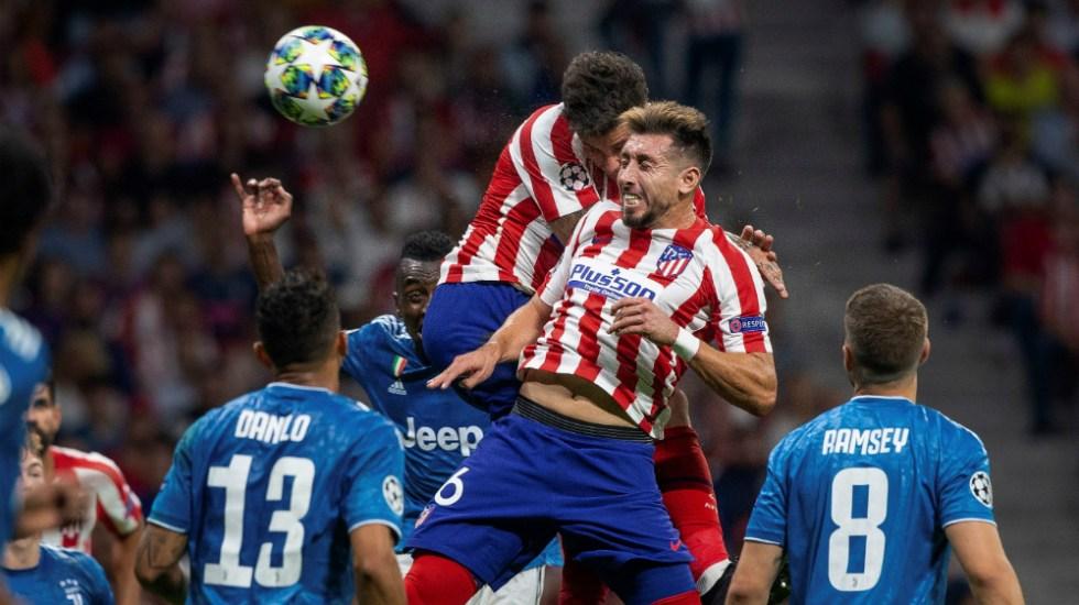 Héctor Herrera se perderá partido del Atlético ante Liverpool - Foto de EFE