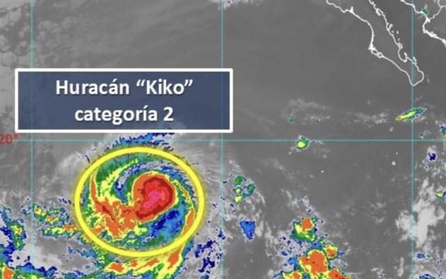 Kiko se aleja de las costas de México como un huracán categoría 2 - Foto de SMN