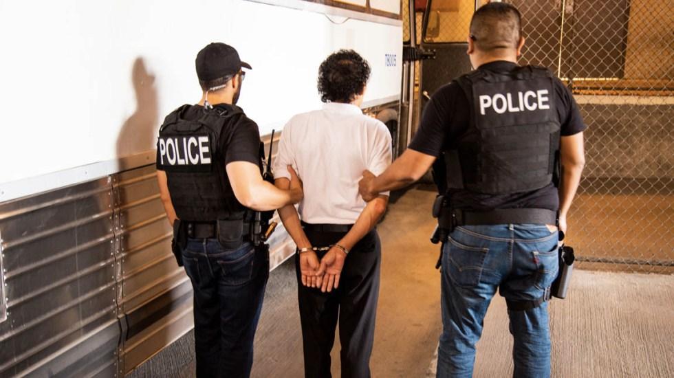 Muere migrante mexicano bajo custodia del ICE - ICE policía migración migrantes
